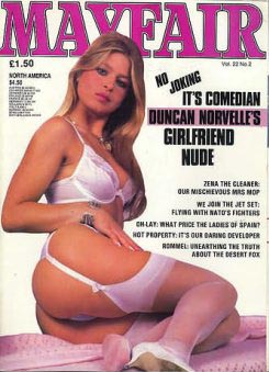 Cover shot of Mayfair magazine Vol 22 No 2