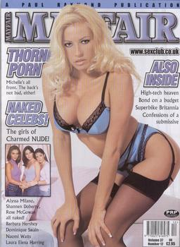 Michelle Thorne covergirl image